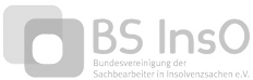 Berufsverband der Sachbearbeiter mit Bezug zum Insolvenzrecht - Logo